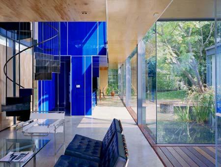 Dùng kính trong thiết kế và xây dựng nhà ở